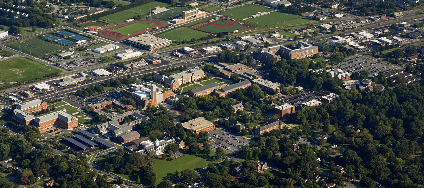 Salisbury University from the air